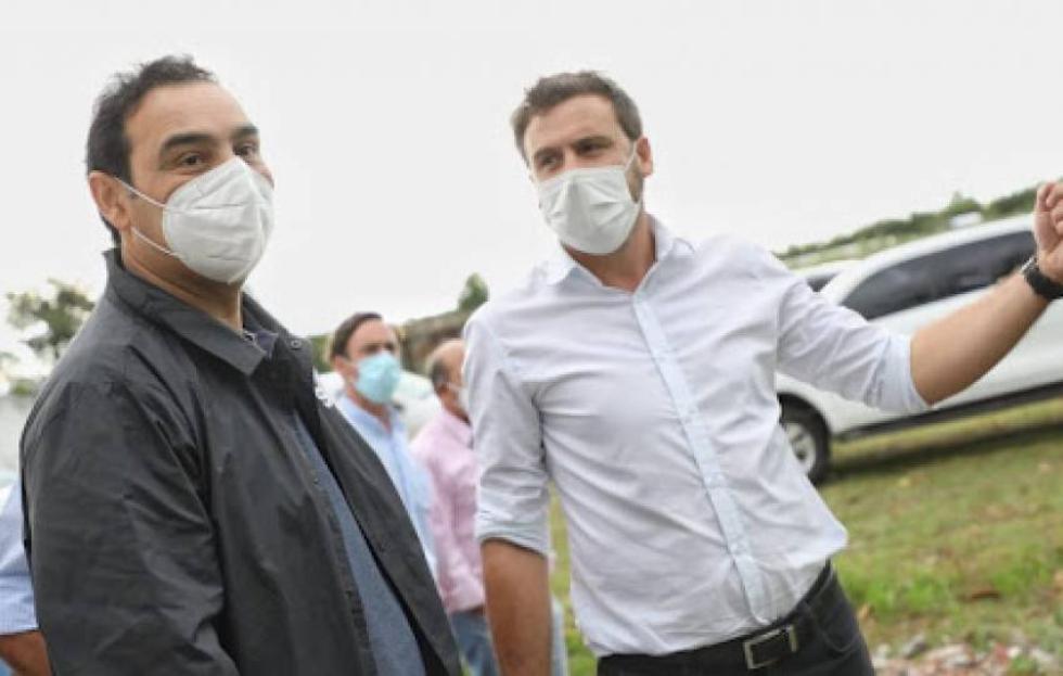 Fabricio Vargas y Gustavo Valdés