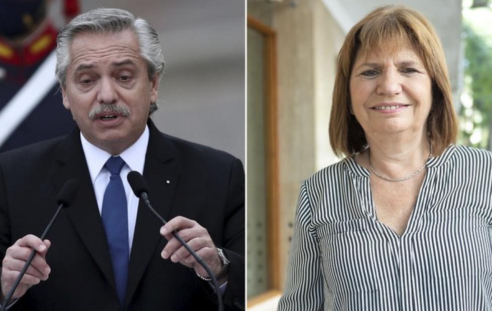 Sin acuerdo en la mediación, Alberto Fernández demandará a Patricia Bullrich por difamaciones