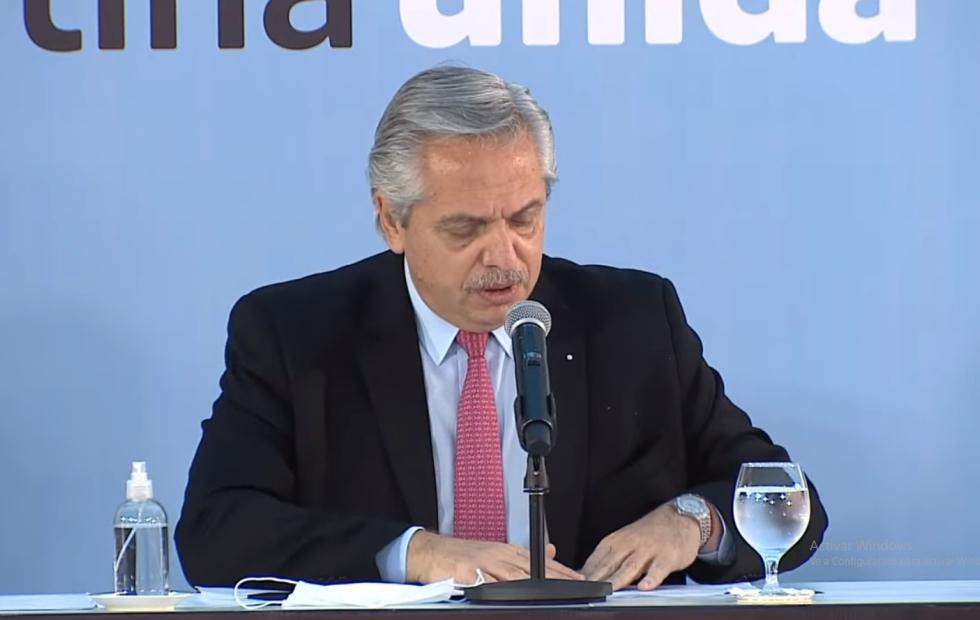"""Alberto Fernández: """"Es la diplomacia la que debe llevarnos a recuperar las Islas Malvinas"""""""