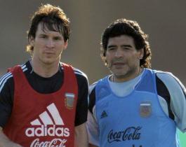 "Toti Pasman deslizó que Messi ""se sacó una mochila"" con la muerte de Maradona"