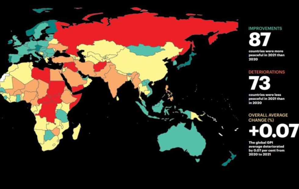 Cuáles son los países menos peligrosos del mundo para vivir y qué lugar ocupa Argentina en el ranking