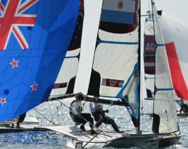 """Travascio-Branz ganaron la """"medal race"""", pero no les alcanzó para el podio en Tokio 2020"""