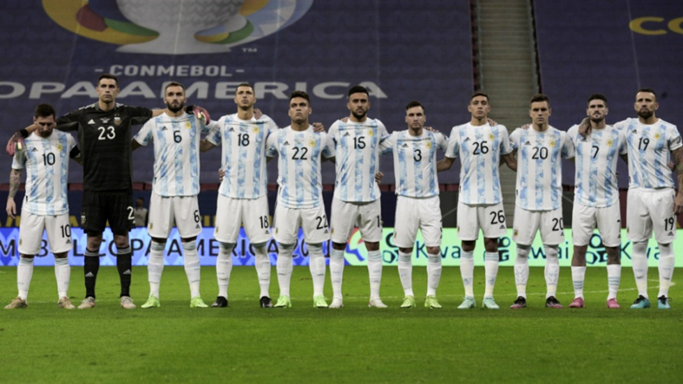 seleccion argentina campeon copa america 2021
