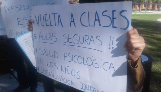 """Aseguran que las clases presenciales garantizan """"un acceso igualitario"""" a la educación"""