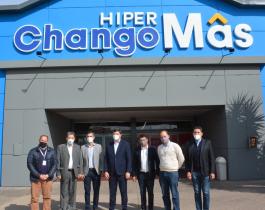 Schiavi se reunió con los directivos de la cadena ChangoMás
