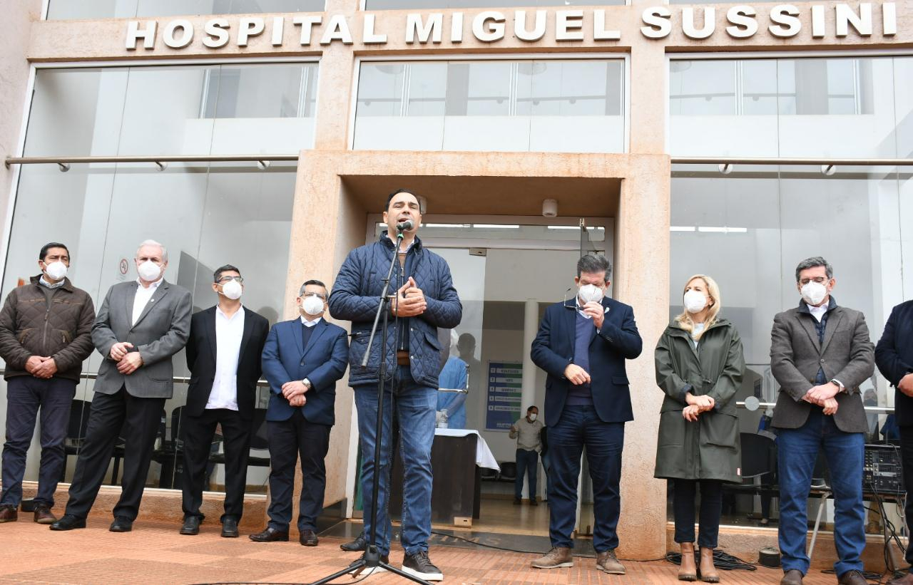 hospital Sussini: Valdés