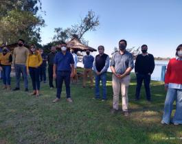 Candidatos del Frente Corrientes de Todos recorrieron Caá Catí y Berón de Astrada
