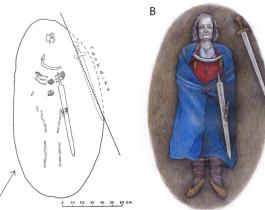Fin del misterio: un guerrero enterrado con ropa de mujer era intersexual