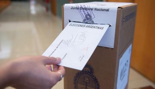 Dónde voto: consultá el padrón definitivo de las elecciones del 14 de noviembre