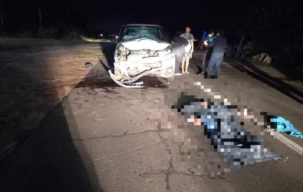 Corrientes: un motociclista murió en un siniestro vial con una camioneta