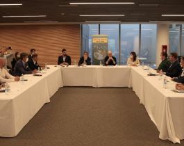 El viceintendente Emilio Lanari participó del segundo encuentro de la Alianza de Ciudades por el Clima