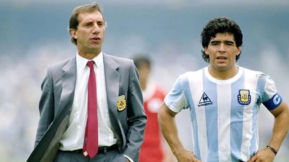 Maradona y Bilardo