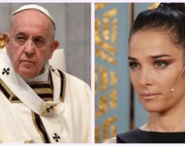 """Juana Viale cruzó al Papa y le pidió que """"abra el Vaticano"""""""