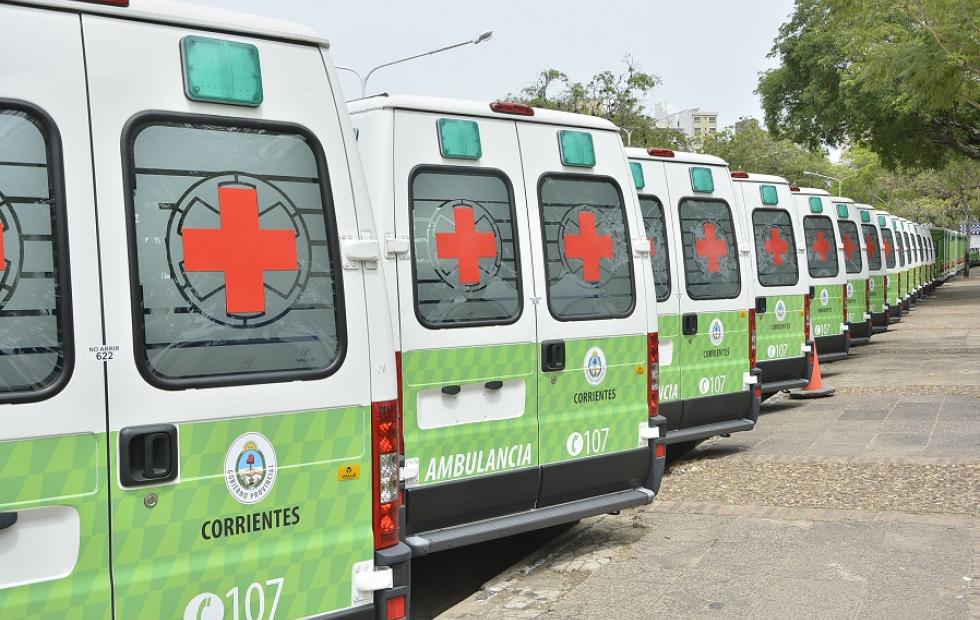 Sumarán 40 nuevas ambulancias para el interior de Corrientes