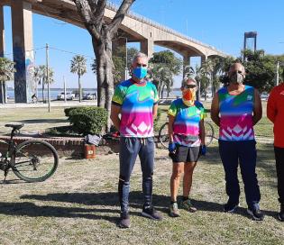 Corrientes: corredores proponen actividades para las personas que se recuperaron del Covid-19