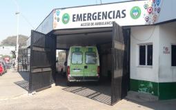 En pocas horas ingresaron tres personas al Hospital Escuela por accidentes de tránsito