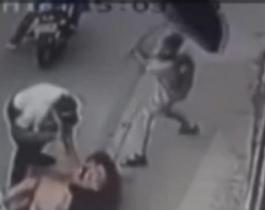 Un nene defendió a su mamá a paraguazos del ataque de un ladrón