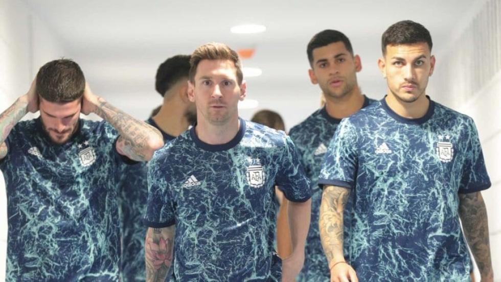seleccion argentina 2021 Messi