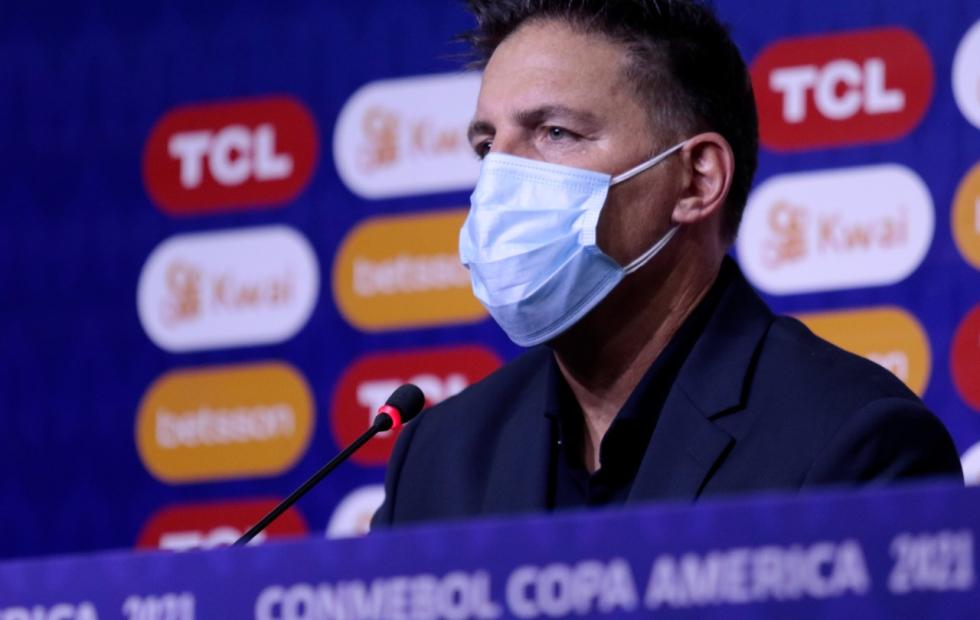 El entrenador Eduardo Berizzo repetiría la formación de Paraguay ante Argentina
