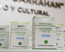 Nación hizo la primera entrega de cannabis medicinal a pacientes del Hospital Garrahan