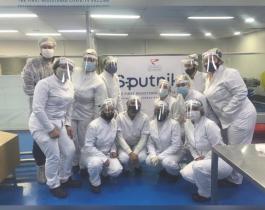 El laboratorio Richmond finalizó la producción de más de 400 mil vacunas Sputnik V
