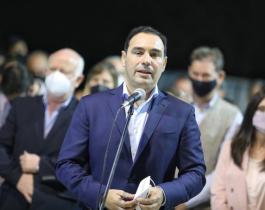 Valdés inauguró la pavimentación de la calle José Soto y se comprometió a intervenir otras 300 cuadras