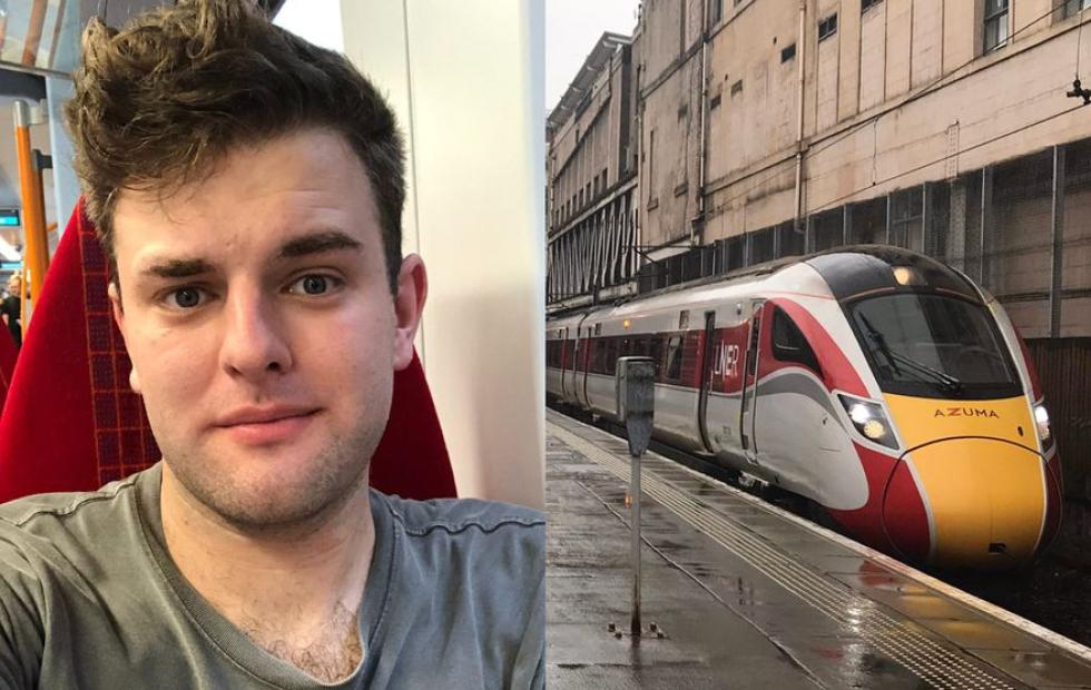 """Una persona no binaria denunció al conductor de un tren por usar la frase """"damas y caballeros"""""""