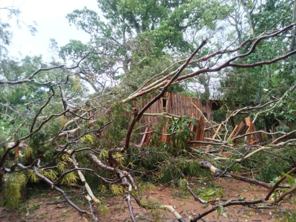 tormentas en Corrientes
