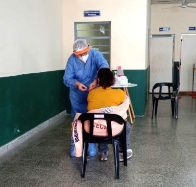 Cerca del 30% de la población ya recibió la primera dosis de la vacuna contra el coronavirus