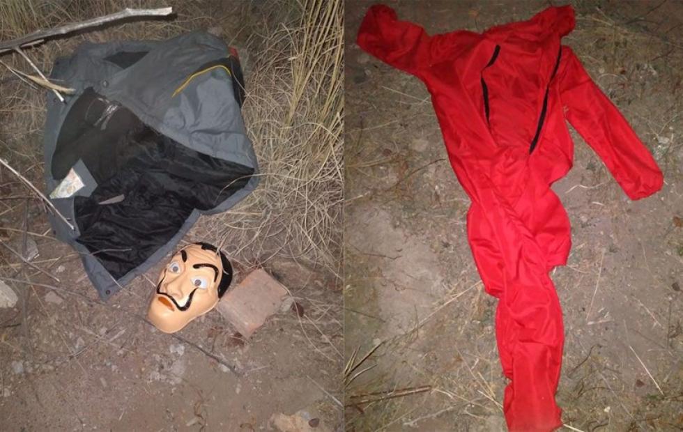 """Una mujer se vistió como en """"La Casa de Papel"""" y robó más de 3 millones de pesos"""