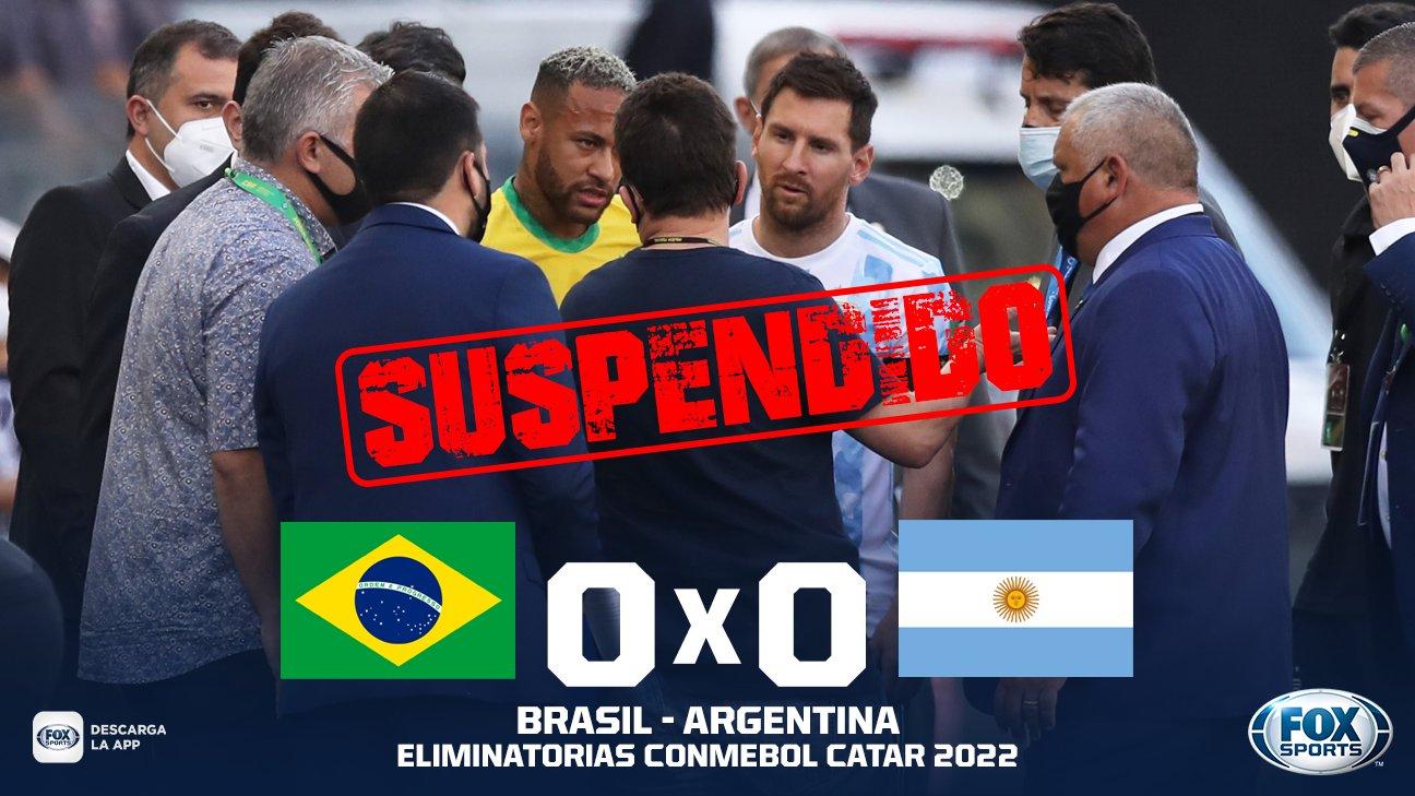 partido suspendido