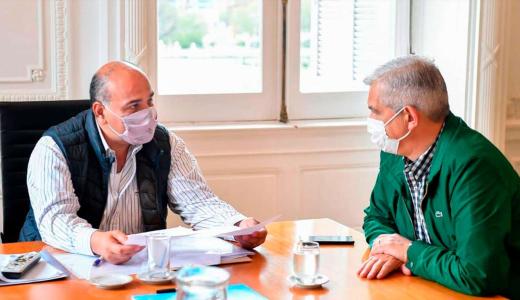 Juan Manzur recibió a Julián Domínguez: buscan alternativas para levantar el cepo a la carne