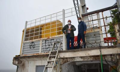 Polich verificó el inicio de las obras de restauración del muelle del puerto de Corrientes