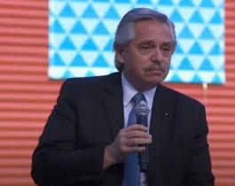 Fernández anunció la prórroga del DNU a la espera de la ley