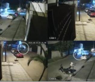 VIDEO: En segundos roban en una quiniela en Goya