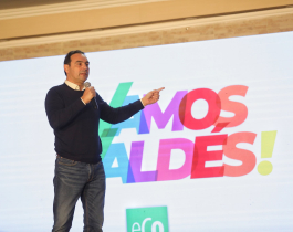 """Valdés: """"Tenemos que marchar juntos hacia un futuro de desarrollo, inclusión y modernización"""""""