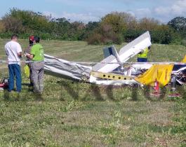Una avioneta se desplomó cerca de la autopista Buenos Aires- La Plata: hay dos muertos