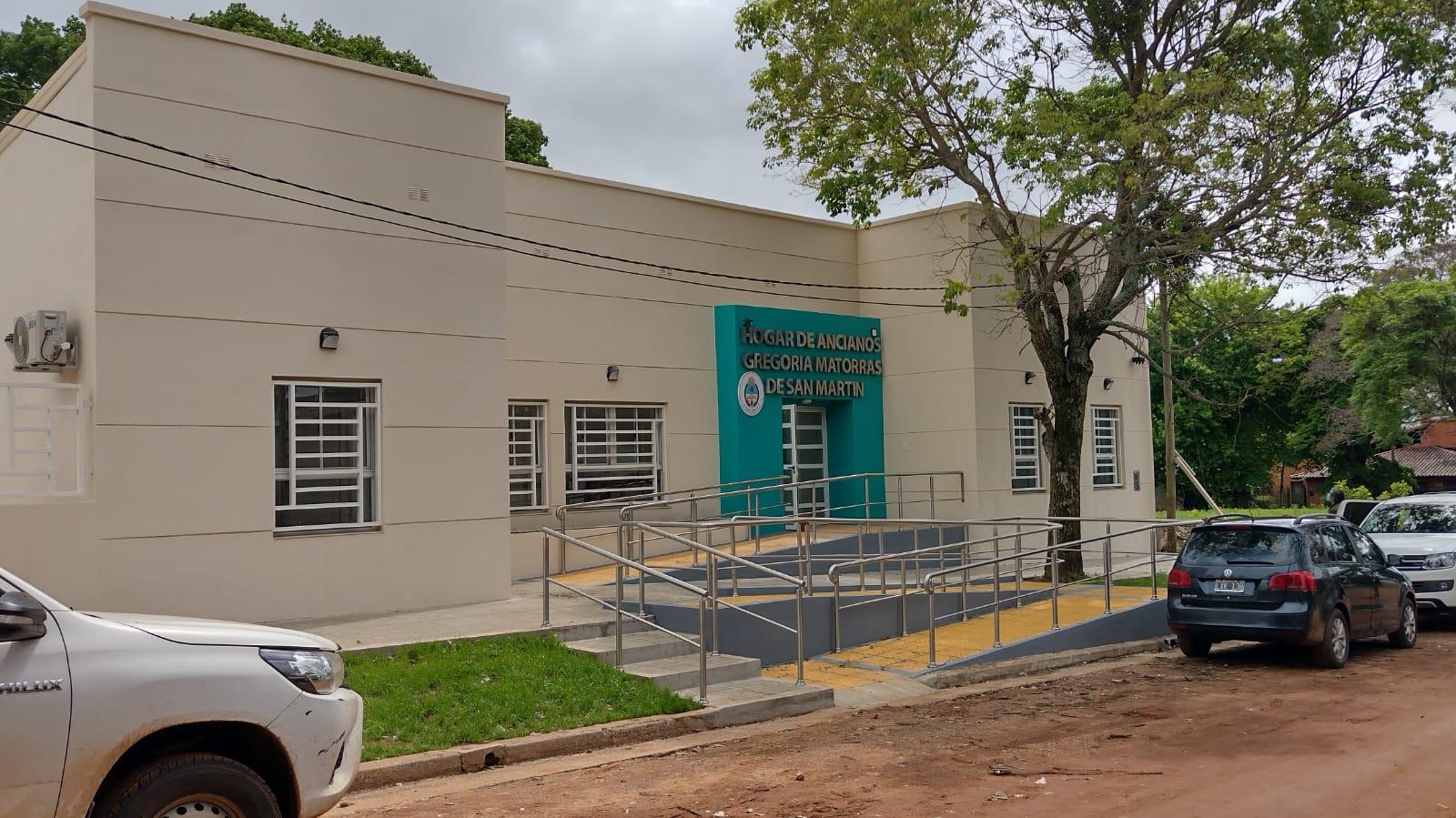 Provincia concluyó la refacción y ampliación del Hogar de Ancianos de Paso de los Libres