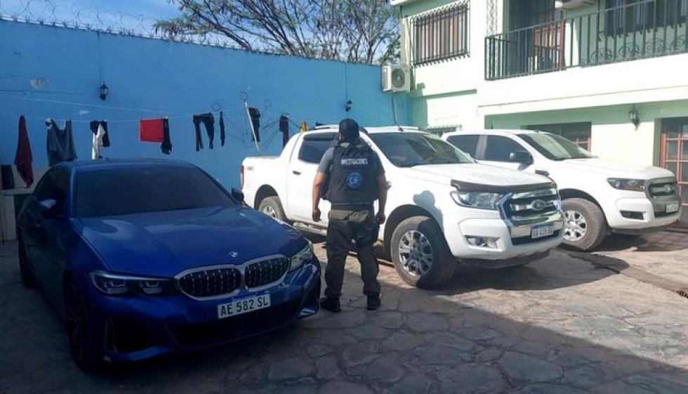 Allanamiento a la casa de Rubén Méndez