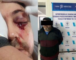 """Habló la mujer del hombre golpeado frente a un colegio tras una discusión en un grupo de WhatsApp: """"Lo patearon en el piso"""""""